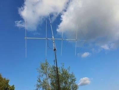 Big Signal 4 BS 11 Meter Quad Big Signal - 4BS-11 4 Element 27 MHz Cubical Quad